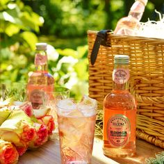 Bloom Gin & Fentimans Rose Lemonade Pre-mixed At a Picnic