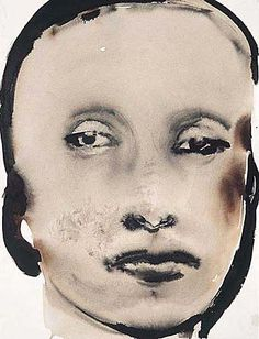 Marlene Dumas,  The Next Generation, 1994-1995  mixed media on paper  On loan by artist 2003/56