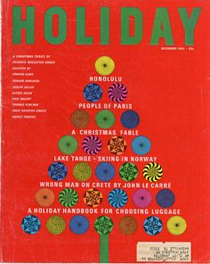 Holiday magazine December 1965