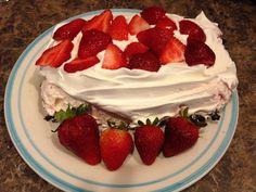 Easy No-Bake Strawberry Sensation!!! So simple and delicious!!