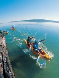 Sea Kayaking with Gravity adventures in South Africa