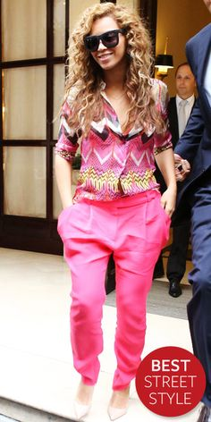 Beyonce in Carven from #InStyle