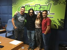 Alineando con la banda del Morning Show de Digital 102.9 FM