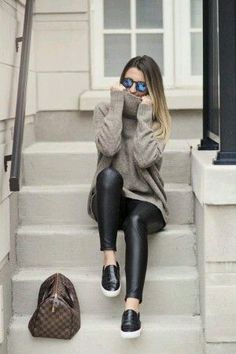 Outfit Trends Today For You ! Cute Winter Outfits, Fall Outfits, Casual Outfits, Outfit Winter, Outfit Summer, Mode Outfits, Fashion Outfits, Fashion Trends, Swag Fashion