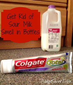 Get Rid of Sour Milk Smell in Baby Bottle