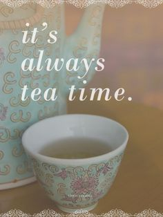 It's Always Tea Time Prints by Cindy Miller Hopkins at AllPosters.com