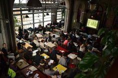 L'audience du jour, les éco-innvoations à La ReCyclerie