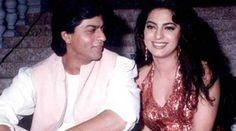 Shah Rukh Khan and Juhi Chawla's cute chemistry was one of the highlights in 1998 film Duplicate. Not Just Duplicate, Shah Rukh and Juhi worked in several other films including Yess Boss, Raju Ban Gaya Gentleman, Ram Jaane and Darr. Bollywood Couples, Bollywood Stars, Bollywood Celebrities, King Of My Heart, King Of Hearts, Shah Rukh Khan Movies, Juhi Chawla, Best Bond, Indian