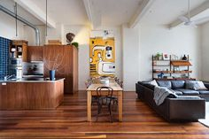 I'm in my beloved Fitzroy in inner-city Melbourne and I'm stalking warehouse apartments. High c...