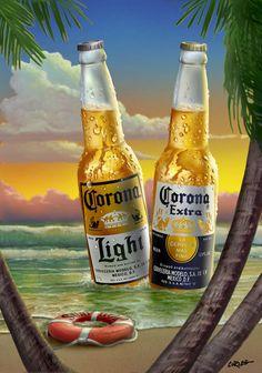 Corona Extra Corona Light HulaHangout.com