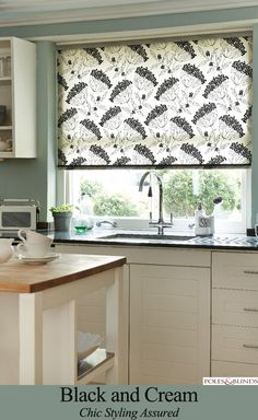 9 Grand Tips AND Tricks: Dark Wooden Blinds bamboo blinds roll up.Kids Bedroom Blinds blinds and curtains grey.Blinds And Curtains Crown Moldings. Roller Blinds Kitchen, Kitchen Window Blinds, Bathroom Blinds, Kitchen Curtains, Diy Blinds, Fabric Blinds, Shades Blinds, Curtains With Blinds, Privacy Blinds