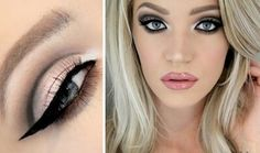 Beauty tips for hooded eyes - Create a cut crease.   A cut crease is a dramatic eye look that can make your eyes look bigger. A cut crease can also create a false eyelid fold, which is a lifesaver for those with hooded eyes. Your eyelids will look like a work of art.