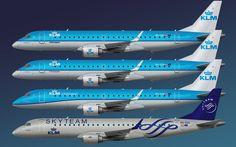 ERJ-190 : KLM