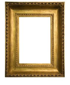 """GOLD METAL LEAF WOOD FRAME PLEIN AIR STYLE FOR 8/"""" x 10/"""" Painting"""