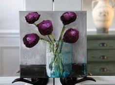 """10 x 10"""" acrylic on canvas"""