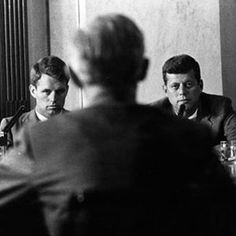 "The question was, ""How about me and President Johnson?"" What about it? Are you trying to start a fight or something? I said in the past that it's possible to have a coalition government in Saigon, but that doesn't mean it's possible here in the United States. —RFK, 1966"