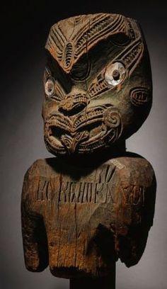 Polynesian People, Polynesian Art, Polynesian Culture, Maori Patterns, Maori People, Tiki Totem, Supernatural Beings, Maori Art, Totem Poles