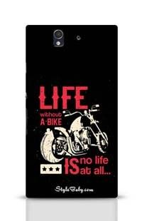 Life Without A Bike Is No Life At All Sony Xperia Z Phone Case