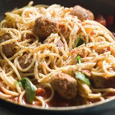 Meatballs and Pasta recipe - From Lakeland