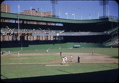 Another brilliant photo of the Polo Grounds from the Walker Evans Archive. September 5, 1952.