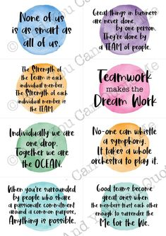 Colleagues Quotes, Leadership Quotes, Teamwork Quotes Motivational, Best Teamwork Quotes, Inspirational Quotes, Good Team Quotes, Team Success Quotes, Staff Appreciation, Employee Appreciation Quotes