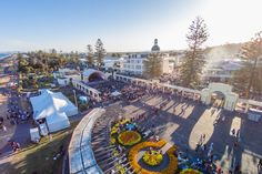 Event Drone photo, taken of the Napier Soundshell- Art Deco event. This entry was from Floyd Pepper.