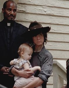 Gabriel, Judith(Lil' Asskicker), and Carl