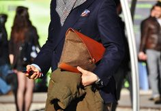 Street Style - Men Clutch Bag