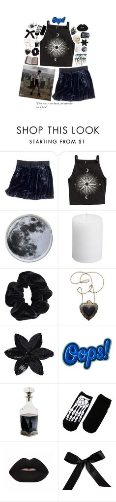 """drinking by the mausoleum door"" by ghostclub ❤ liked on Polyvore featuring Madewell, H&M, American Apparel, Rosita Bonita, ASOS, Anya Hindmarch, Peek and Bocage"
