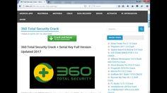 360 Total Security Crack + Serial Key Full Version Updated 2018