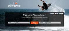 Camera Showdown is a new way to compare cameras by pictures taken rather than by camera features or specs  http://www.camerashowdown.com