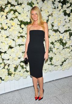 Gwyneth Paltrow in Victoria Beckham dress