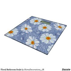 Shop Floral Bathroom Scale created by HomeDecorations_JA. Bath Scale, Picnic Blanket, Outdoor Blanket, Kids Rugs, Bathroom, Floral, Home Decor, Washroom, Decoration Home