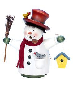 Christian Ulbricht Snowman Incense Burner | zulily