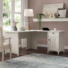 Lark Manor Ottman L-Shape Corner Desk Home Office Decor Ideas // Home Office Furniture // Office Design Home Office Desks, Home Office Furniture, Office Decor, Office Ideas, Office Spaces, Office Designs, Desk Ideas, Small Office, Furniture Stores