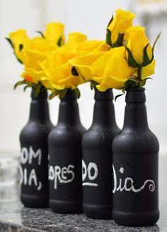 Ricota Não Derrete: Como transformar garrafas velhas em vasos fofos