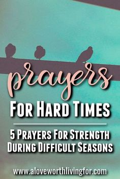 Challenging seasons are inevitable. Difficult circumstances find us all. We are here to help. We have compiled some prayers for hard times that are sure to lift you up and encourage you. Praying these 5 prayers for strength in hard times will help you foc Having Faith Quotes, Quotes About Strength In Hard Times, Prayer For Difficult Times, Strength Quotes, Prayers For Strength, Heartbroken Quotes, New Quotes, Funny Quotes, Life Quotes