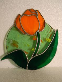 Handcrafted Stained Glass Suncatcher by NaomiStainedGlass on Etsy