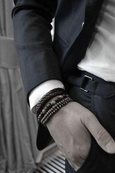 Armband för Män - En tidlös och solklar accessoar!