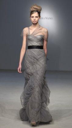 Vera Wang Colored Wedding Dress