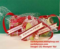 Little Treats Bundle, Christmas, Designer Series Paper, die cutting, Under The Mistletoe