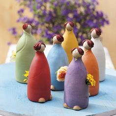 Beet-Schwestern   Alles aus Keramik   Gartendeko