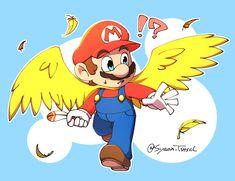 Mario Fan Art, Mario Bros., Mario And Luigi, Super Mario Brothers, Super Mario Bros, Red Video, Mario Memes, Nintendo, The Legend Of Zelda
