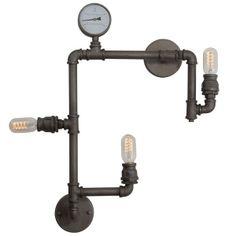 Lampa Industrial Loft to świetna, niecodzienna lampa w loftowej stylizacji. Lampa dzięki wykonaniu jej ze stalowych rur zyskuje na niezwykłym dizajnie, który przyciągnie wzrok każdej osoby. Lampa loftowa odnajdzie się we wnętrzach w stylachloftowym, industrialnym, nowoczesnym i ekstrawaganckim. Pozwól sobie na chwilę eksperymentów z dizajnem i wprowadź do swojego wnętrza charakterny blask lampy Industrial Loft!