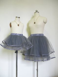 Hey, I found this really awesome Etsy listing at https://www.etsy.com/listing/237839890/mommy-and-me-tutu-skirt-set-in-dark-gray