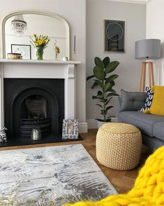 Well that was another shocking night with my Natey 😖 Hand foot and mouth and ear infections can do one. Living Room With Fireplace, Living Room Grey, Home Living Room, Living Room Designs, Living Room Decor, Living Room Yellow Accents, Victorian Living Room, Victorian House, Lounge Decor