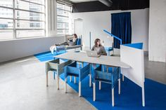 Out of Office flexible workplace by studio KNOL, Eindhoven – Netherlands » Retail Design Blog