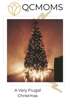 Having a radically frugal Christmas doesn't mean not celebrating! Here are a lot of ways to save money in ways you may not have considered before. Christmas Eve Service, Days To Christmas, Frugal Christmas, Christmas Books, Little Christmas, Christmas Lights, Christmas Tree, Personalized Wine Bottles, Quilted Coasters