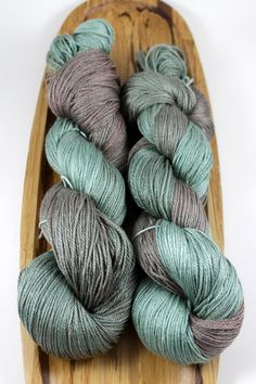 Luxe Fingering - Sherwood Handpaint, hand-dyed yarn, silk/merino blend, 3-ply 500 yds