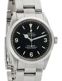 Rolex Oyster Perpetual Explorer 1016 by Ian Fleming